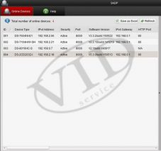 Hikvision Search Active Devices Protocol (v3.0.0.100)