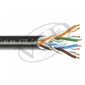 Dialan UTP Cat.5e 4PR Cu 0,48 PVC+PE Outdoor 305 м.